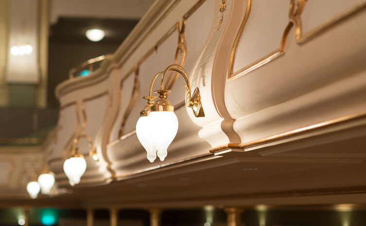 Koenigliches Kurhaus Lampen