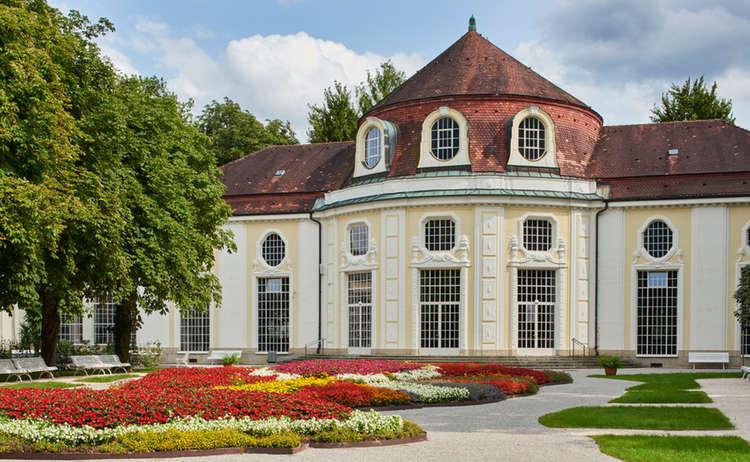 Konzertrotunde am Königlichen Kurgarten